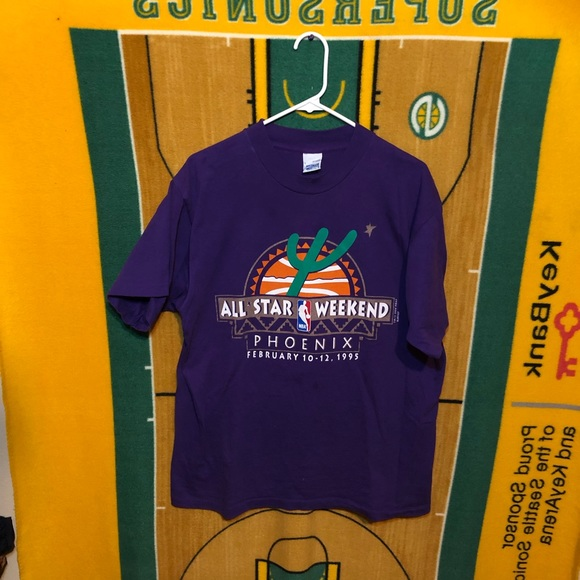 e4d9d10e8 Vintage 1995 NBA All Star Phoenix Shirt 90's Men's